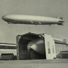 German Photo Book Graf Zeppelin LZ 127 Hindenburg LZ 129 LZ 130 Blimp Airship