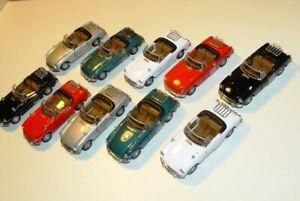 Job Lot B Cararama 1:43 MGB Cabriolet Convertible Diecast Models - Unboxed