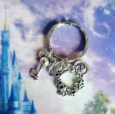 Mickey Mouse Floral Inspired Disney Keyring