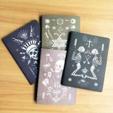 Vintage Skull Kraft Paper Notebook Travel Diary Office Note Book School Supplies