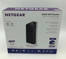 NETGEAR WNDR4500 N900 Wireless-N Dual Band Gigabit Router WIFI Broadband