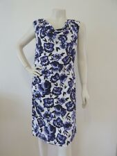 Regatta Size 16 Petites Sleeveless Dress Purple White