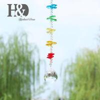 Handmade Crystal Rainbow Suncatcher Hanging Ball Prisms Window Home Decor 30mm