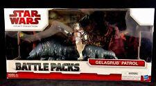 2009 Star Wars LEGACY Collection GELAGRUB PATROL w/ CLONE TROOPER Battle Pack!