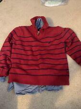 Nautica Kids Sweater And Dress Shirt Boys Size S 8