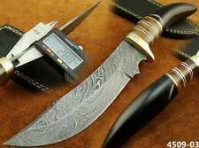 Alistar Handmade Damascus Steel Knife/Hunting Trailing Knife (4509-3
