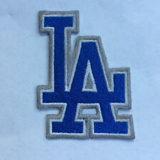 #652 Los Angeles  Dodgers Logo MLB Baseball Hat Jersey Embroidered Iron On Patch