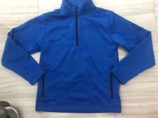 Nike Golf Boys Therma Fit 1/4 zip Jacket Stay Warm Blue Small