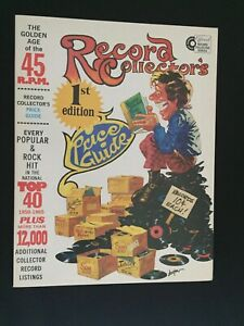 RECORD COLLECTOR'S PRICE GUIDE 1976  FIRST EDITION JERRY OSBORNE NEAR MINT COND