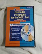 CAMBRIDGE PREPARATION FOR TOEFL TEST STUDENT CDROM CAMBRIDGE By Robert Gear