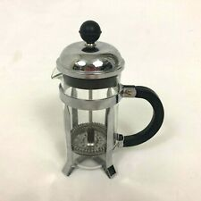 Bodum Chambord 3 Cup French Press Coffee Maker Stainless Steel Chrome Glass