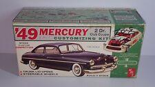 1/25 AMT 1949 MERCURY 2 DR. CLUB COUPE UNSEALED PLASTIC MODEL KIT