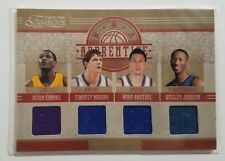 2010 Timeless Treasures NBA Apprentice Quad Eubanks Mozgov Rautins Johnson Quad