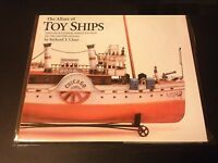 Rare Allure of Toy Ships book 2005 vintage nautical boat tin toys marklin Claus