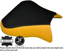 DESIGN 2 YELLOW BLACK CUSTOM FITS APRILIA RSV 01-03 TUONO 04-05 1000 SEAT COVER