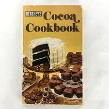 Vintage 1979 Hershey Cocoa Cookbook Baking and Beverage Recipes