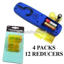 AAA AA C D CELL TYPE BATTERY ADAPTERS X12  CONVERTER REDUCING SLEEVES BATTERIES