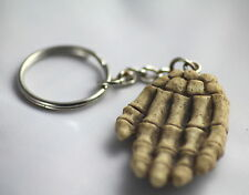 SKELETON HAND KEY RING -  AN UNUSUAL, WEIRD, GOTHIC and USEFUL GIFT