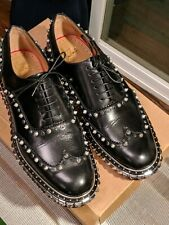 Men's Christian Louboutin Spiked Oxford
