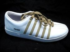 K-Swiss Frank Classic 88 white mens tennis sneakers athletic shoes sz 9M 40