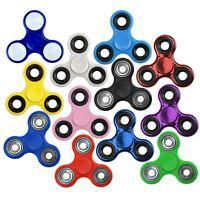 Finger Fidget Spinner Steel Tri Hand Focus Novelty Fast Bearing Game Stress Toy