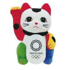 Tokyo 2020 Olympic games official Beckoning cat plush toy F/S Japan
