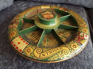 Early 19th Century Antique Regency POPE JOAN Wheel GAME INTRIGUE MATRIMONY