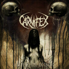 Carnifex - Until I Feel Nothing LP RED VINYL Deathcore Death Metal w/ DL SEALED
