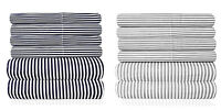 Loft Collection 6 Piece Sheet Set 1500 Thread Count Classic Stripe