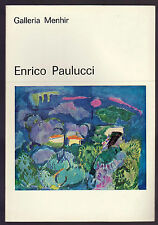ENRICO PAULUCCI - GALLERIA MENHIR LA SPEZIA 1979 1980