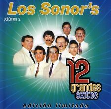 Vol. 2-12 Grandes Exitos - Los Sonor's (2007, CD NIEUW)