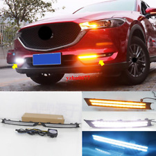 2017-2020 For Mazda CX-5 LED Daytime Running Light DRL Front Fog Light 2pcs