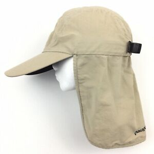 Patagonia Fly Fishing Hat Sun Duck Long Bill Outdoor Shade Trout Cap Size S/M