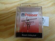 H0 Preiser 28062 Beach-Volleyball. SONDERMODELL. Figur. OVP