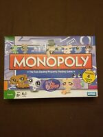 Littlest Pet Shop Edition Monopoly Game Incomplete