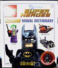 DK LEGO DC Superheroes: Batman Visual Dictionary c/w Electro Suit Batman
