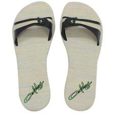 Oakley Treaty Slide Black Size 6 US Womens Girls Beach Flip Flops Sandals Thong