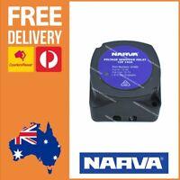 Narva 140A Voltage Sensitive Relay - Dual Battery 12V VSR - Relay Cut Off 61092