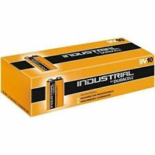 Duracell 9V Industrial Alkaline Batteries - 10 Count