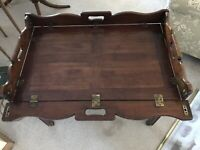 Hickory Chair Mahogany Butlers
