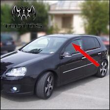 Deflettori Aria Antiturbo Oscurati  VW Golf V 5 P VolksWagen Golf 5 anche GT GTI