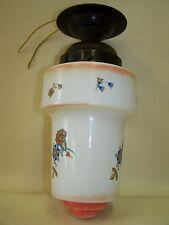 Belle antique Art Déco, Lampes de plafond cuisine avec des fleurs Motif,