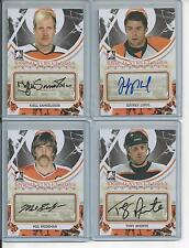 2011-12 ITG Broad Street Boys Auto Orange Joffrey Lupul [sp]