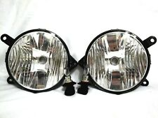 Front Grille Mounted Fog Light Lamps w/bulbs One Pair For 2010-2012 Mustang GT