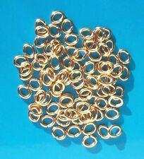 100 GP OVALE Salto Anelli, 6.5 mm x 5 mm, i risultati per Gioielli artigianato