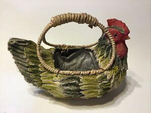 Chicken Basket,succulent Planter ? Hen.