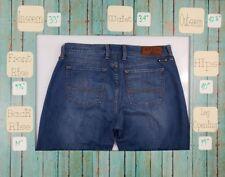 "Women's Lucky Brand Sofia Boot Denim Blue Jeans Size 12/31 Long  ""E6"""