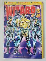 WIZARD COMICS MAGAZINE #15 November 1992 ORIGINAL WETWORKS COVER & POSTER!