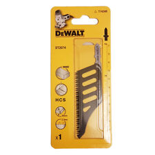 DeWALT DT2074 HCS Jigsaw Wood Blade 65mm 2.3mm Tooth Pitch