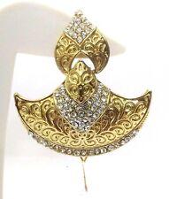 Light Gold Contemporary Earring Jhumka Fashion Jewelry Boho Drop Dangle Long 49